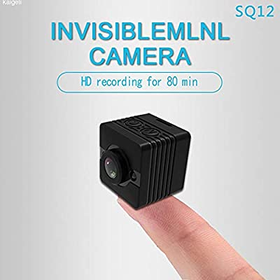 POTENCO HD 1080P Camera SQ12 Waterproof Camcorder Mini Night Vision DV Motion Video Recorder