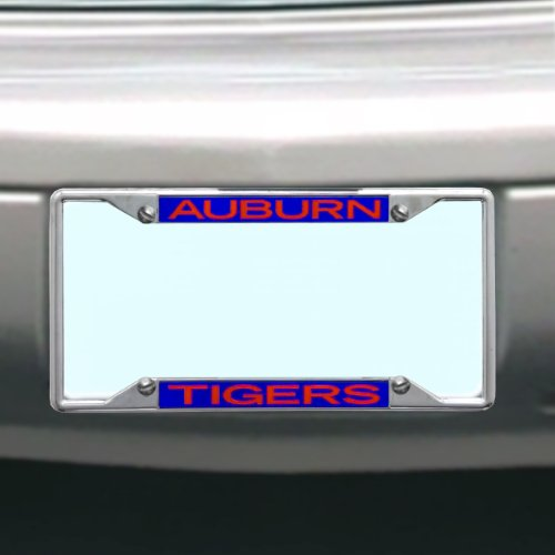 College License Tag - NCAA Auburn Tigers License Plate Frame
