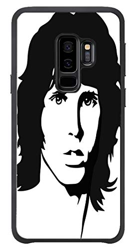 Jim Morrison Portrait - AOFFLY for Samsung Galaxy S9 Plus Only - Jim Morrison Portrait James - Shock Absorption Protection Phone Cover Case