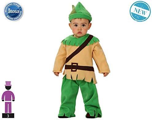 Atosa-61303 Atosa-61303-Disfraz Duende-Bebé + 24 Meses-NIño-Verde ...