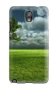 JennaCWright Galaxy Note 3 Hybrid Tpu Case Cover Silicon Bumper Landscape Earth