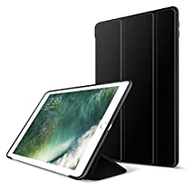 New iPad 2017 iPad 9.7 Case,GOOJODOQ Lightweight Smart Case Cover With Magnetic Auto Sleep/Wake Function PU Leather Shockproof Silicon Soft TPU Folio Case For Apple New iPad 2017 9.7 Inch Model
