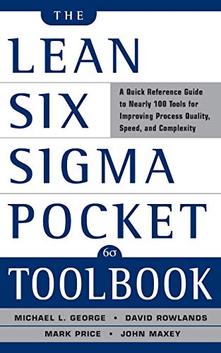Pdf Money The Lean Six Sigma Pocket Toolbook: A Quick Reference Guide to 100 Tools for Improving Quality and Speed