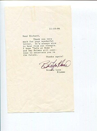 Brenda James Klemme Stargate Atlantis Slip Taken Signed Autograph T