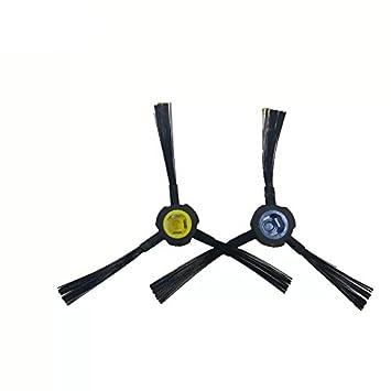 Louu 2 piezas ILIFE V80 V8S X800 Robot Aspirador Cepillo Cepillo Cepillo lateral Aspirador Accesorios Piezas: Amazon.es: Hogar
