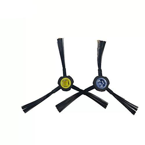 Louu 2 piezas ILIFE V80 V8S X800 Robot Aspirador Cepillo Cepillo ...