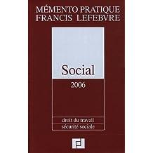 Social: Droit du travail, sécurité sociale