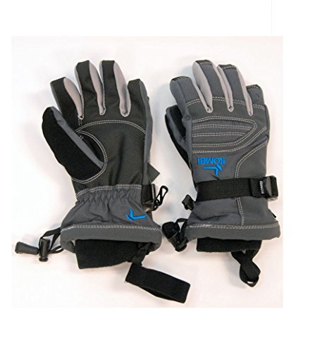 Kombi Women's Storm Cuff III Gloves, Gun Metal, Medium