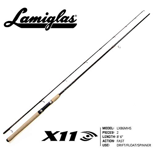 Lamiglas X-11 Salmon/Steelhead Spinning Rod