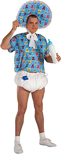 Blue Big Baby Kit (Includes Diaper, Pin, Pacifier)