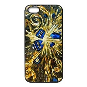 Every New Day Popular Tardis Doctor Who Starry Night iphone 4/4s iphone 4/4s or Best Durable PVC Case