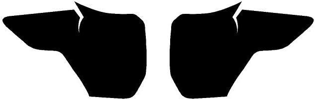 Rvinyl Rtint Headlight Tint Covers for Ford Explorer 2020-2020 Blackout Smoke