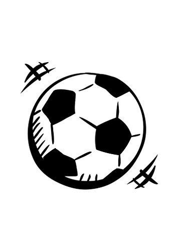 VinMea Balón de fútbol de la Novedad Aluminio Metal Sign 7 X 10 ...