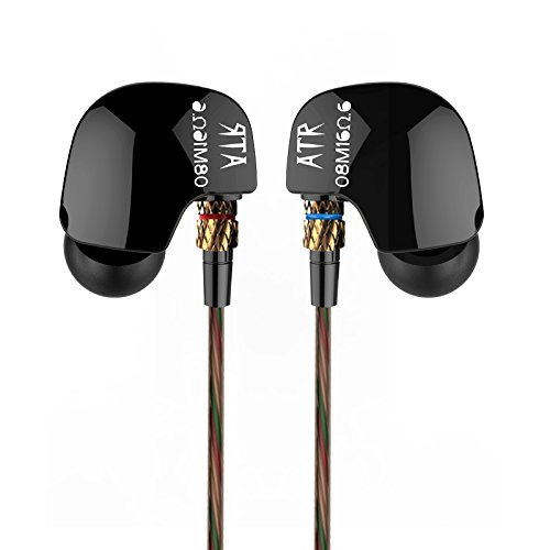 KZ ATR HIFI Stereo Super Bass Noise Isolating Sport In Ear Earphones Without Mic