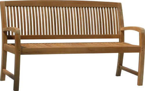 - 5' Solid Teak Outdoor Bench - From The Aqua Linear Collection 700