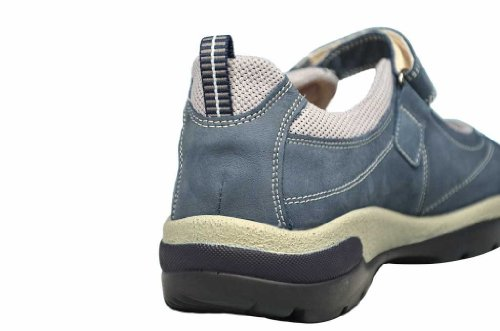 379 Leather Sneaker J4025 H women Julia 461 wide Blue blue Semler P6wftRqnY