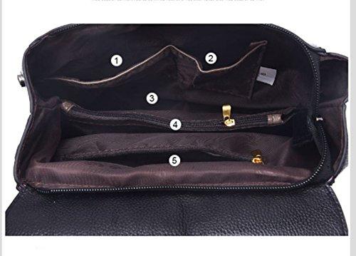 Backpack PU and Shoulder Black Purse for Designer Girls Red Women Mini Leather atqwRrt