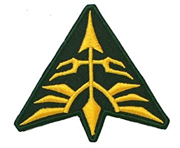 Gundam Neo Zeon Uniform Embroidered Patch Badge Cosplay