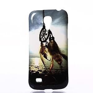WQQ Patrón brillante Windbell Caso suave de silicona para Samsung I9190 S4 Mini