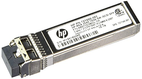 HP MSA 2040 10Gb Short Wave iSCSI SFP+ 4-pack Transceiver C8R25A by HP