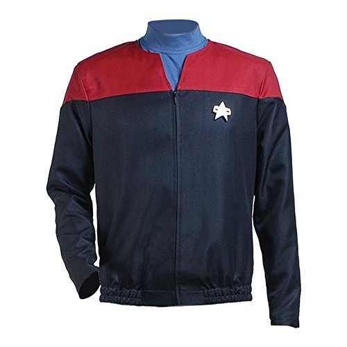 TISEA Star Fans Men's Men's Suit Jacket with Inner Shirt Nemesis Uniform Costume (XL, Red) ()