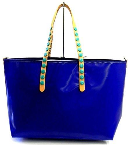 Gabs - Bolso de tela para mujer Stamp Astratto Green Bag