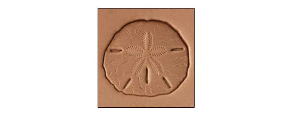 Tandy Leather Craftool 3-D Stamp Sand Dollar 8681-00
