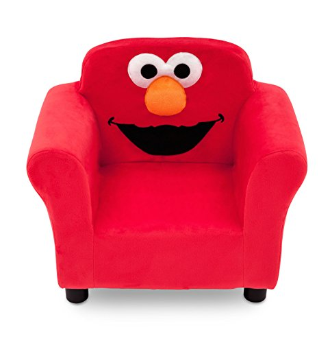 Hardwood Toddler Seat (Sesame Street Elmo Upholstered Chair)