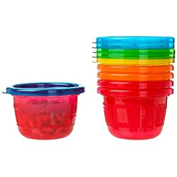 The First Years Take & Toss Snack Cups, Pack of 6