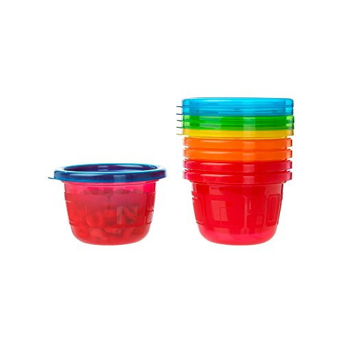 The First Years Take & Toss Snack Cups - 4.5 Ounce, 6 Pack