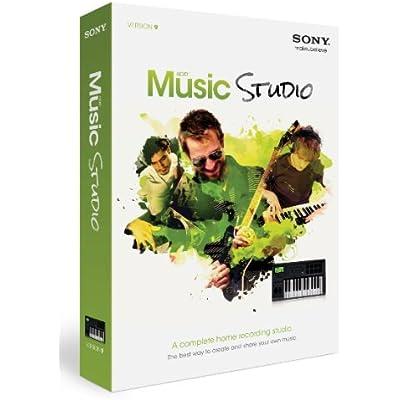 Sony ACID Music Studio 9 - Software de edición de audio/música (200 MB, 1024 MB, 1000 MHz, Caja, ENG)