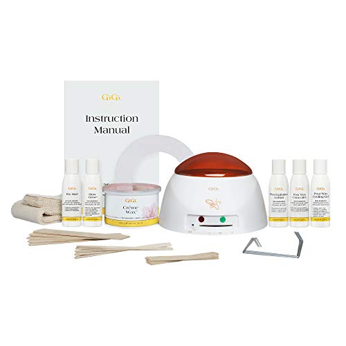 Waxing kit with frustration-free packaging