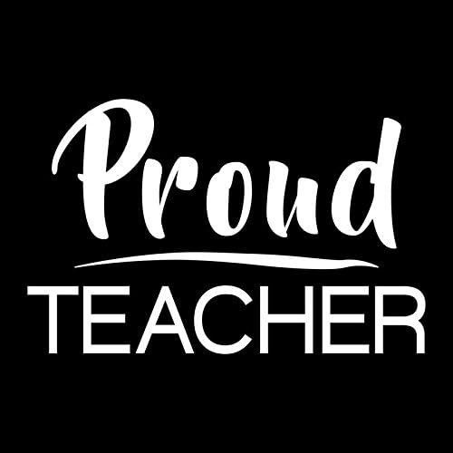 1x vinyl Teacher Teacher Assistant NOTE BOOK Vinyl Decal Sticker ONLY