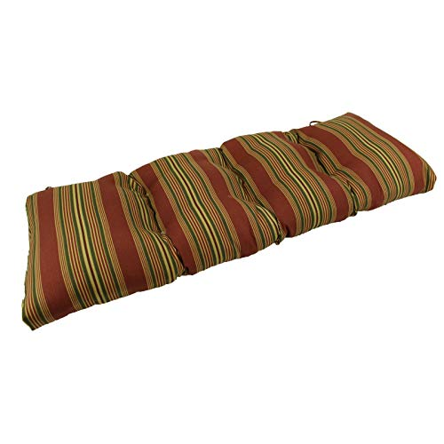 OKSLO Sweetwater stripe sunbrella outdoor bench/glider cushion Model d2320