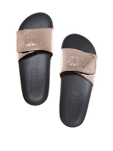Victoria's Secret Pink Crossover Comfort Slide Rose Gold (Large)
