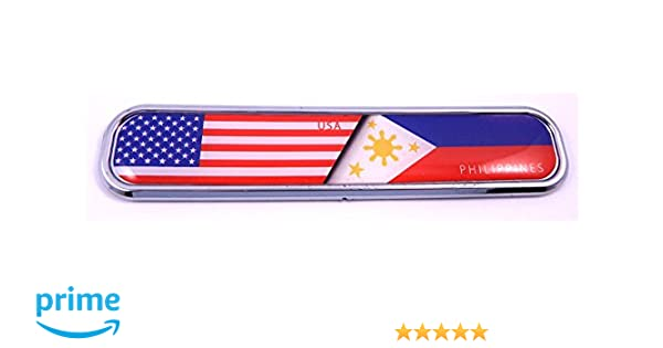 Thin blue line police flag Chrome Emblem 3D auto Decal car bike boat 5.3