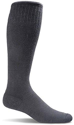 culator Graduated Compression Socks, Small/Medium (4-7.5), Black Stripe ()