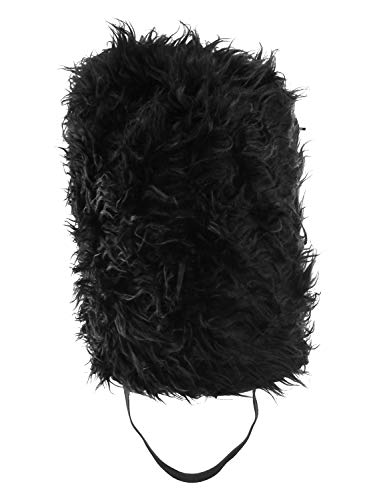 Nicky Bigs Novelties Bearskin Costume Hat, Black, One ()