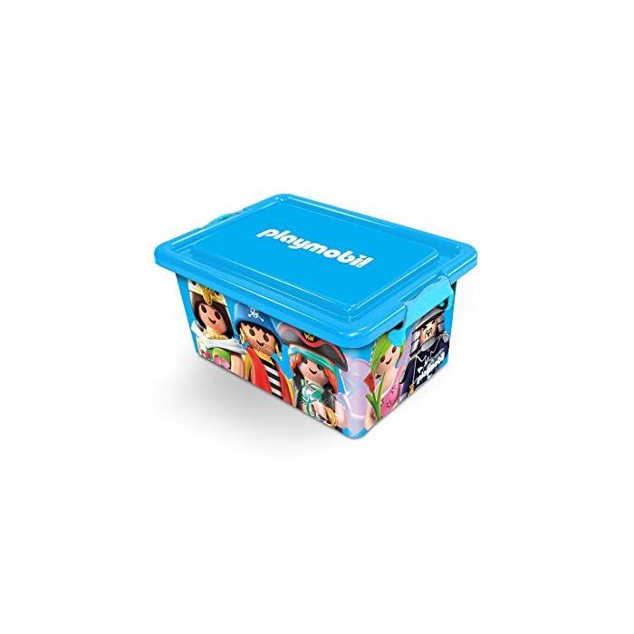 PLAYMOBIL 064671 Caja Grande de almacenaje 23/L Caja con divisiones