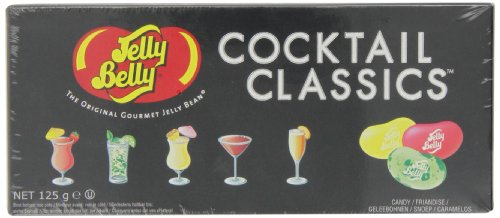Jelly Belly Cocktail Classics 5-Flavor Gift Box NET WT 4.25 OZ (120g)