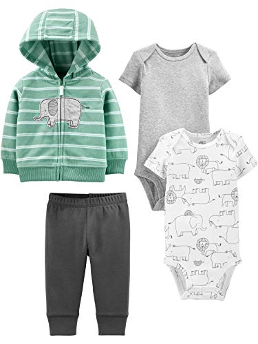 Simple Joys by Carter's Baby 4-Piece Jacket, Bodysuit, and Pant Set