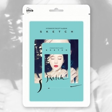 T-ARA HYOMIN - [SKETCH] 2nd Mini Kihno Card Album +Photo for sale  Delivered anywhere in USA