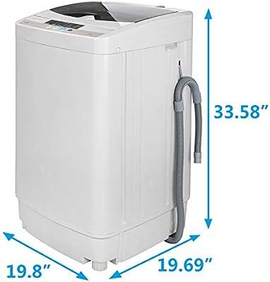 Lavadora multifuncional ZENSTYLE de carga superior de 10 libras ...
