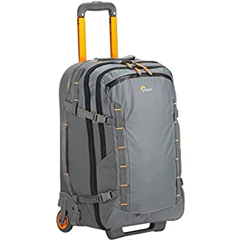 Lowepro HighLine RL x400 AW - Weatherproof, 37-liter carry-on-compatible rolling luggage for the adventurous traveler who carries modern devices