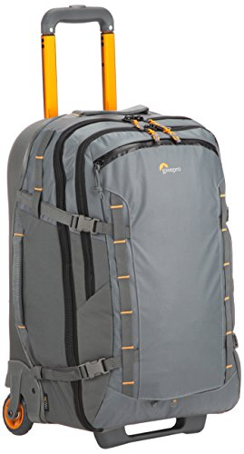 Lowepro HighLine RL x400 AW - Weatherproof, 37-liter carry-on-compatible rolling luggage for the adventurous traveler who carries modern devices by Lowepro