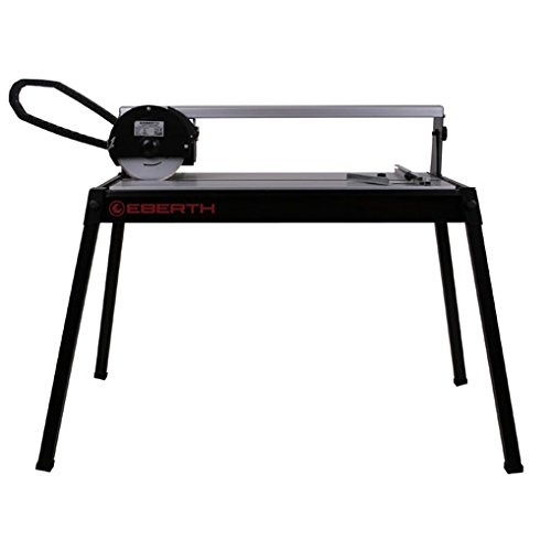 EBERTH 620 mm Electric Tile Cutter with Laser (Swivelling up to 45°, 36 mm...