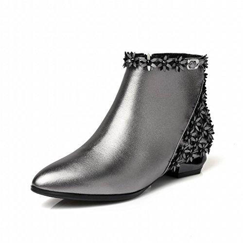 D'hiver Bas Marée Avec Doré Pointues Talons Femmes Bottes B Nue Chaussures Shorts Zh gwxnFqU5B0