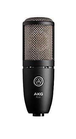 AKG P220 Large Diaphragm Condenser Microphone, Cardioid Microphones