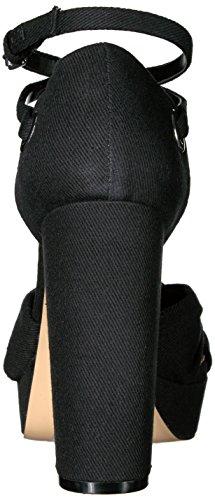 Daya By Zendaya Vrouwen Missie Platform Sandaal Zwart