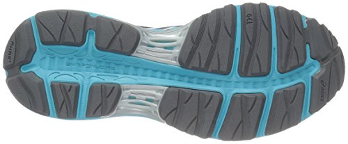 ASICS Womens Gel-Cumulus 18 G-TX Running Shoe Aluminum/Aquarium/Neon Lime 3rXb4zrZ5